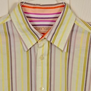 Ted Baker French Cuff Dress Shirt 16.5